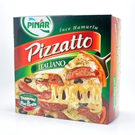 Picture of Pınar Pizzatto İtaliano Pepperoni & Mozzarella Pizza 4 Adet 600 gr