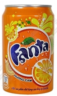 Picture of Fanta Portakal 330 ml