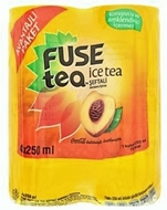 Picture of Fuse Tea Ice Tea Şeftali Aromalı İçecek 4 x 250 ml