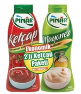 Picture of Pınar Ketçap 750 Gr + Mayonez 650 gr