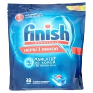 Picture of Finish Powerball Hepsi 1 Arada Otomatik Bulaşık Makinesi Deterjanı 38 Tablet 726 gr