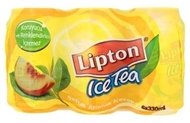 Picture of Lipton Ice Tea Şeftali Aromalı İçecek 6 x 330 ml