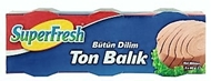 Picture of Superfresh Ton Balığı Konservesi 3 x 80 gr