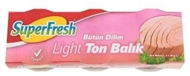 Picture of Superfresh Light Ton Balığı Konservesi 3 x 80 gr