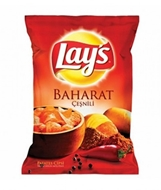 Picture of Lay's Baharat %20 Fazla 124 Gr