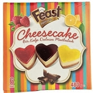 Picture of Feast Patisserie Cheesecake 6 Adet 480 gr