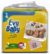 Picture of Evy Baby Mega Paket 80 Ad Mini