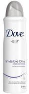 Picture of Dove Invisible Dry 48 Saat Etkili Terleme Önleyici Sprey Deodorant 150 ml