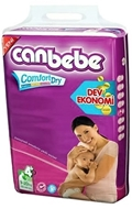 Picture of Canbebe Dev Ekonomi Bebek Bezi Maxi Plus (9-20 Kg) No:4+ 70 Adet