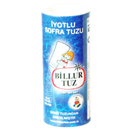 Picture of Billur Tuz İyotlu Tuzluklu  125 Gr