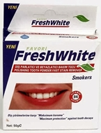 Picture of Fresh white 50 Gr diş parlatma tozu Smokers