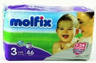 Picture of Molfix İkiz Pk Midi