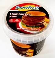 Resim Superfresh Hamburger 585 gr