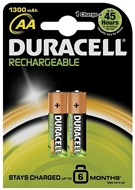 Picture of Duracell Rechargeable Pil Aa 2 Li 1300 M