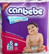 Picture of Canbebe İkiz Paket 16+Kg Junior 6no