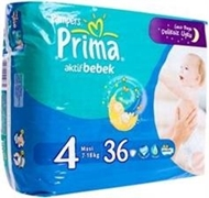 Picture of Prima Aktif Bebek Maxi No:4 36'lı