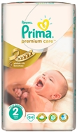 Picture of Pampers Prima Premium Care Bebek Bezi 2 Mini 3-6 kg 54 Adet