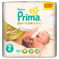 Picture of Pampers Prima Premium Care Bebek Bezi 2 Mini 3-6 kg 90 Adet