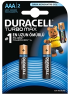 Picture of Duracell Turbo Max Alkalin AAA İnce Kalem Pil 2'li Paket