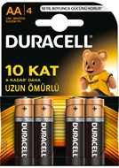 Picture of Duracell AA Alkalin Pil 4 Adet