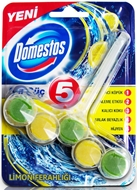 Picture of Domestos Wc Blok Güç Limon 5'li
