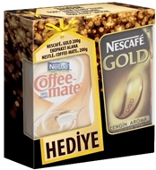 Picture of Nescafé Gold Kahve + Coffe Mate 2 x 200 gr