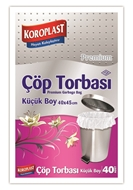 Picture of Koroplast Çöp Torbası Mini Boy 40 x 50 cm 40 Adet
