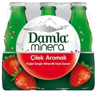 Picture of Damla Minera Maden Suyu 6x200 Ml. Çilek