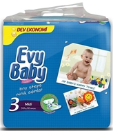 Picture of Evy Baby Dev Paket 3-Midi 92 li.