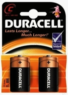 Picture of Duracell 2 li C-D Orta Boy Pil