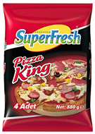 Picture of Süperfresh Pizza King Ekonomik Paket 4 x 220 gr