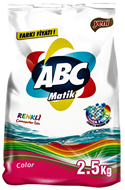 Resim Abc Matik Color 2,5 kg
