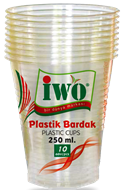 Picture of iwo Plastik Bardak 250 ml