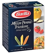 Picture of Barilla Mezze Penne Trıcolor 500 Gr