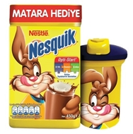 Picture of Nestle Nesquik Toz 450 Gr+Matara
