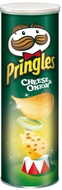 Picture of Pringles Cheese & Onion 165 gr