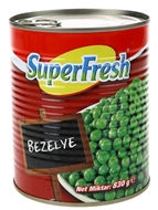 Picture of Süper Fresh Bezelye Teneke 830 gr