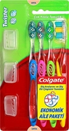 Picture of Colgate Diş Fırça Twister Orta 3+1