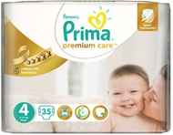 Picture of Prima Premium Care Bebek Bezi No:4 Maxi 35 Adet