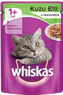 Picture of Whiskas Kuzu Etli 100 gr