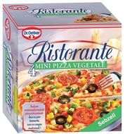 Picture of Dr. Oetker Ristorante Sebzeli Mini Pizza 4 x 170 gr