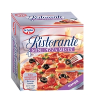 Picture of Dr. Oetker Ristorante Mini Pizza Mista 4 x 150 gr