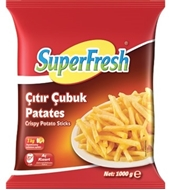 Picture of Superfresh Patates Çıtır Çubuk 1 kg