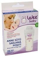 Picture of Wee Anne Sütü Saklama Poşeti 350 Ml  25 li