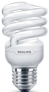 Picture of Philips Tornado Twister 12w/58W E27 Duylu Beyaz Işık