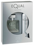 Picture of Equal Classic For Men Edt 75 ml + Body Mist 150 ml