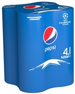 Picture of Pepsi Kutu 4 x 250 ml