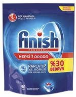 Picture of Finish Powerball 65 tablet Hepsi 1 Arada Otomatik Bulaşık Makinesi Deterjanı