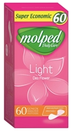 Picture of Molped Daily Care Light Deo Flower Günlük Bakım Pedi 60 Adet