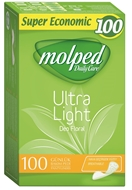 Picture of Molped Daily Care Ultra Light Deo Floral Günlük Bakım Pedi 100 Adet